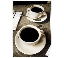 Coffee Klatch Poster