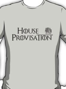 House Provisation (Black) T-Shirt