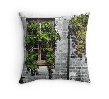 Window Ivy Throw Pillow