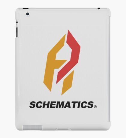 Schematicai Logo. iPad Case/Skin