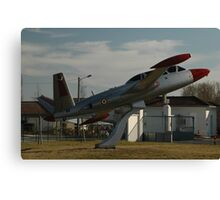 Fouga Magister, Bordeaux, France, Europe 2012 Canvas Print