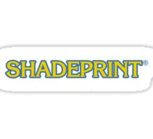 Shadeprint Communications Logo. Sticker