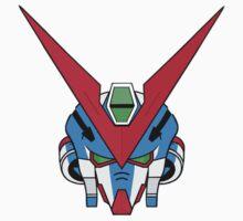Gundam head - blue One Piece - Long Sleeve