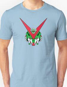 Gundam head - Green Unisex T-Shirt