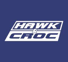 Hawk & Crocdown v2 by psychoandy