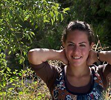 Leah in Ein Karem by MichaelBr