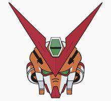 Gundam head - orange Baby Tee