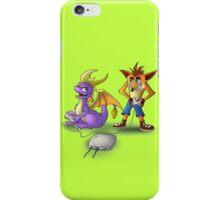 Spyro and Crash - PS1 classics iPhone Case/Skin