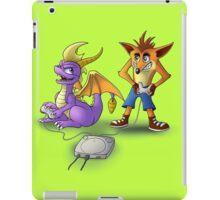 Spyro and Crash - PS1 classics iPad Case/Skin