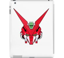 Gundam head - red iPad Case/Skin