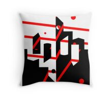 View of Modica Throw Pillow