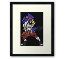 That Ain't Falco! | Falco Typography Framed Print