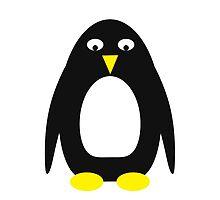 Simple cute penguin  by HappyBundom