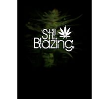 Still Blazing - Black Photographic Print