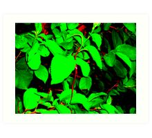 ribbon Art Print
