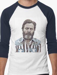 Ron Swanson (Nick Offerman) - An American Hero T-Shirt