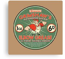 Elbow grease Canvas Print