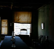 The Empty Chair in The Ghost Town by David DeWitt
