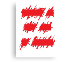 Metal Gear Online Symbol Canvas Print