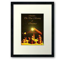Remember...Christmas  Framed Print