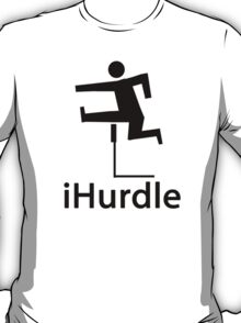 iHurdle BLACK T-Shirt