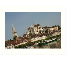 Canal-scape Art Print