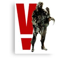 Metal Gear Solid V - Big Boss Canvas Print