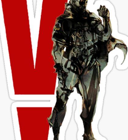Metal Gear Solid V - Big Boss Sticker
