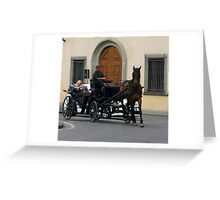 Trot On Greeting Card