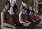 Buddha Row by Dave Lloyd