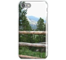 Rocky Mountain Fence iPhone Case/Skin