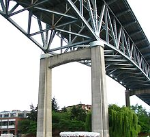 I5 Bridge, Seattle by Rebecca Jarboe