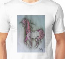 girly pink pony-1131 Unisex T-Shirt