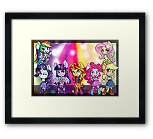 Rainbow Rocks! Framed Print