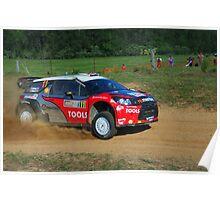 Petter Solberg SS12 Rally Australia Poster