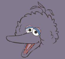 Big Bird Face Kids Clothes