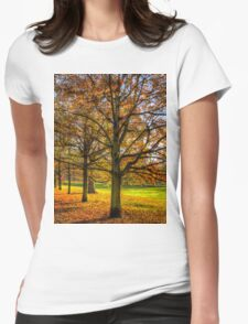Greenwich Park London Womens Fitted T-Shirt