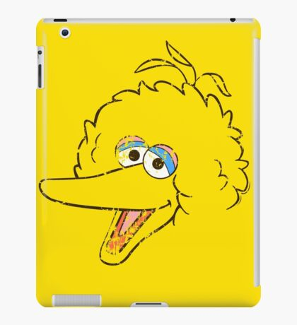 Big Bird Face iPad Case/Skin
