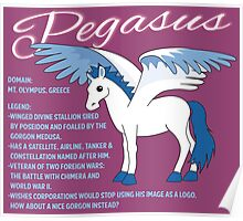Pegasus With Title Poster