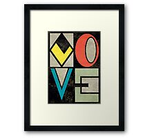 Love II Framed Print