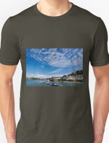 View from river Dart towards Dartmouth, Devon, England  Unisex T-Shirt