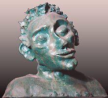 Dude - sculpture by Zack Nichols