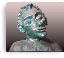 Dude - sculpture Canvas Print