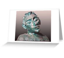 Dude - sculpture Greeting Card