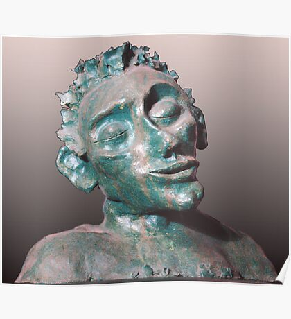 Dude - sculpture Poster