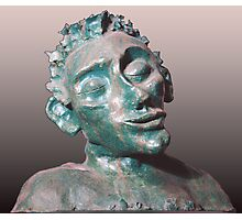 Dude - sculpture Photographic Print