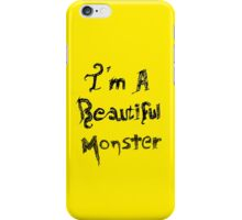 Beautiful Monster iPhone Case/Skin