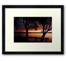 Culburra Beach Sunset #4 Framed Print