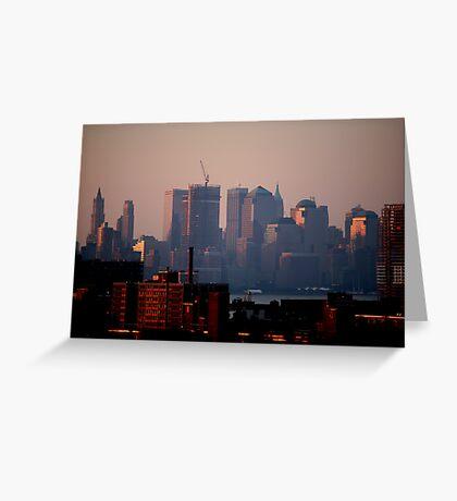 Lower Manhattan Greeting Card