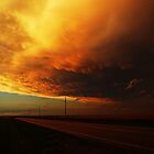 Fiery Evening by Brian Barnes StormChase.com